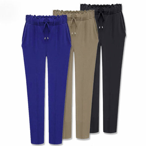 Casual harem trousers for women