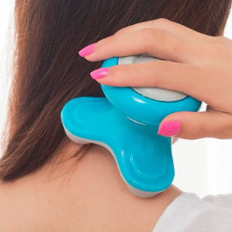 Mini vibrating body massage device