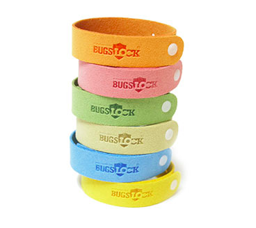 BugsLock mosquito repelling bracelet