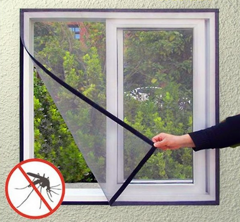 Window mesh screen anti-mosquito insect net