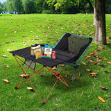Outdoor foldable table