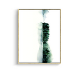 Modern canvas art - green leaves & plants