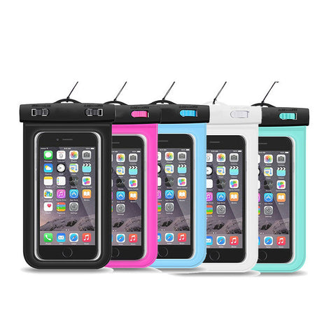 Universal 5.5 inch water resistant phone pouch