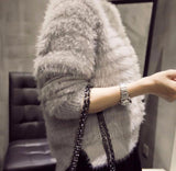 Furry & fluffy sweater for women