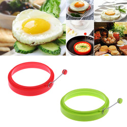 Silicone perfectly round egg maker mould