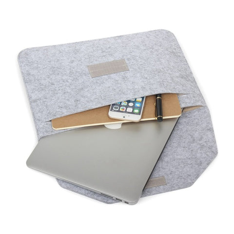 Soft sleeve case for Apple Macbook laptops