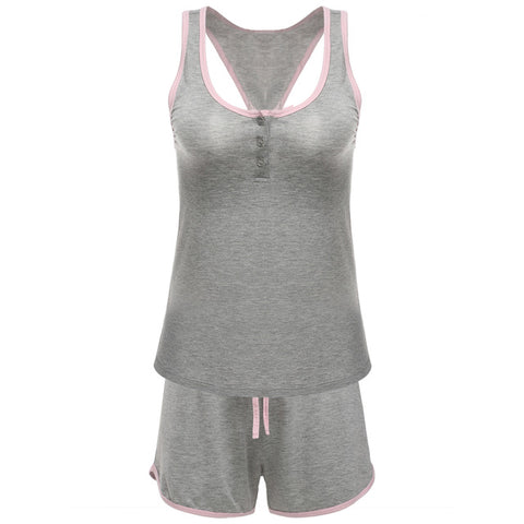 Tank top & shorts nightwear set