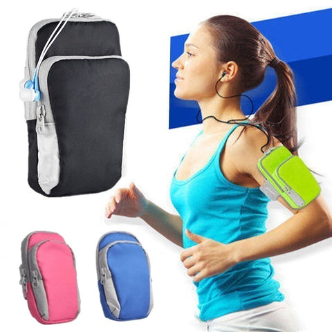 Universal sports armband for smartphone