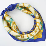 Satin small square scarf