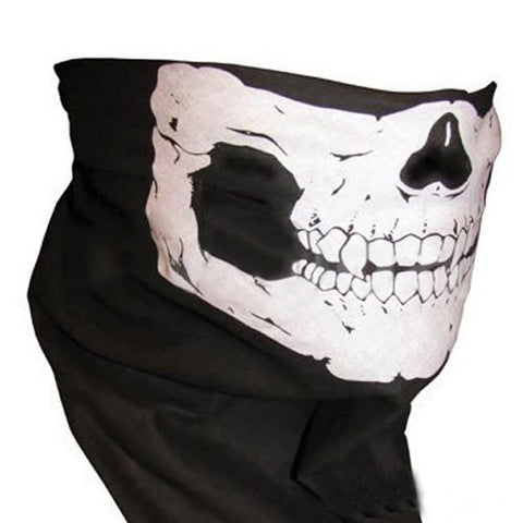 Sport bike ski Halloween skull face mask
