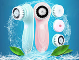 Face cleaner vibrating facial brush