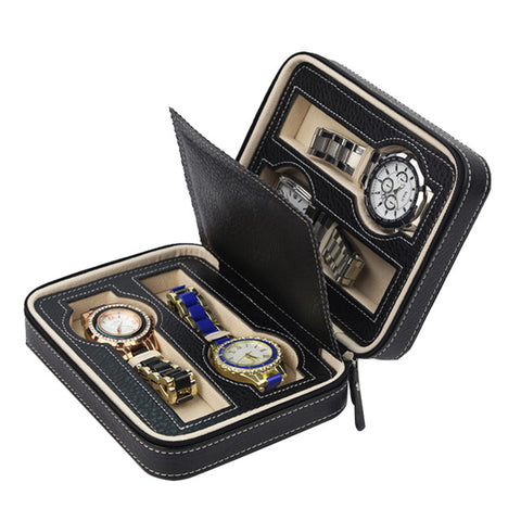 4 slots watch travel box