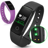 Heart rate monitor smart sports wristband