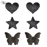 3 pairs mixed bra stickers for parties