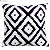 Nordic style decorative pillow cases