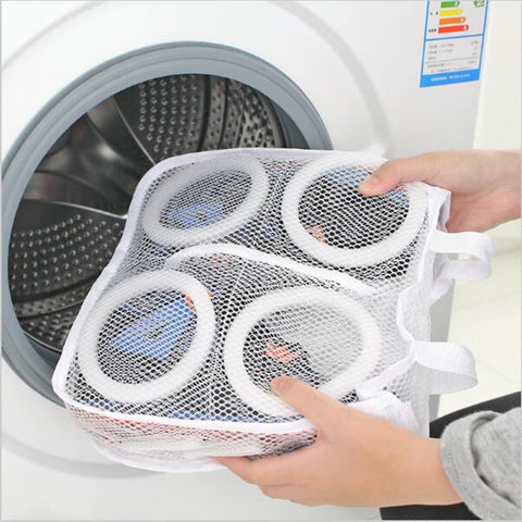 2 x shoe washing laundry bag