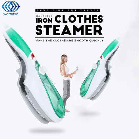 Garment steamer brush handheld iron