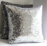 40 x 40 cm glitter sequins cushion cover