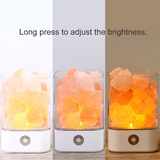 USB crystal salt lamp