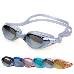Unisex anti fog UV swimming goggles