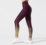 High waist sparkling leggings