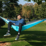 Ultralight nylon hammock