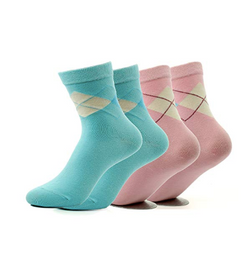 Foot care gel heel socks