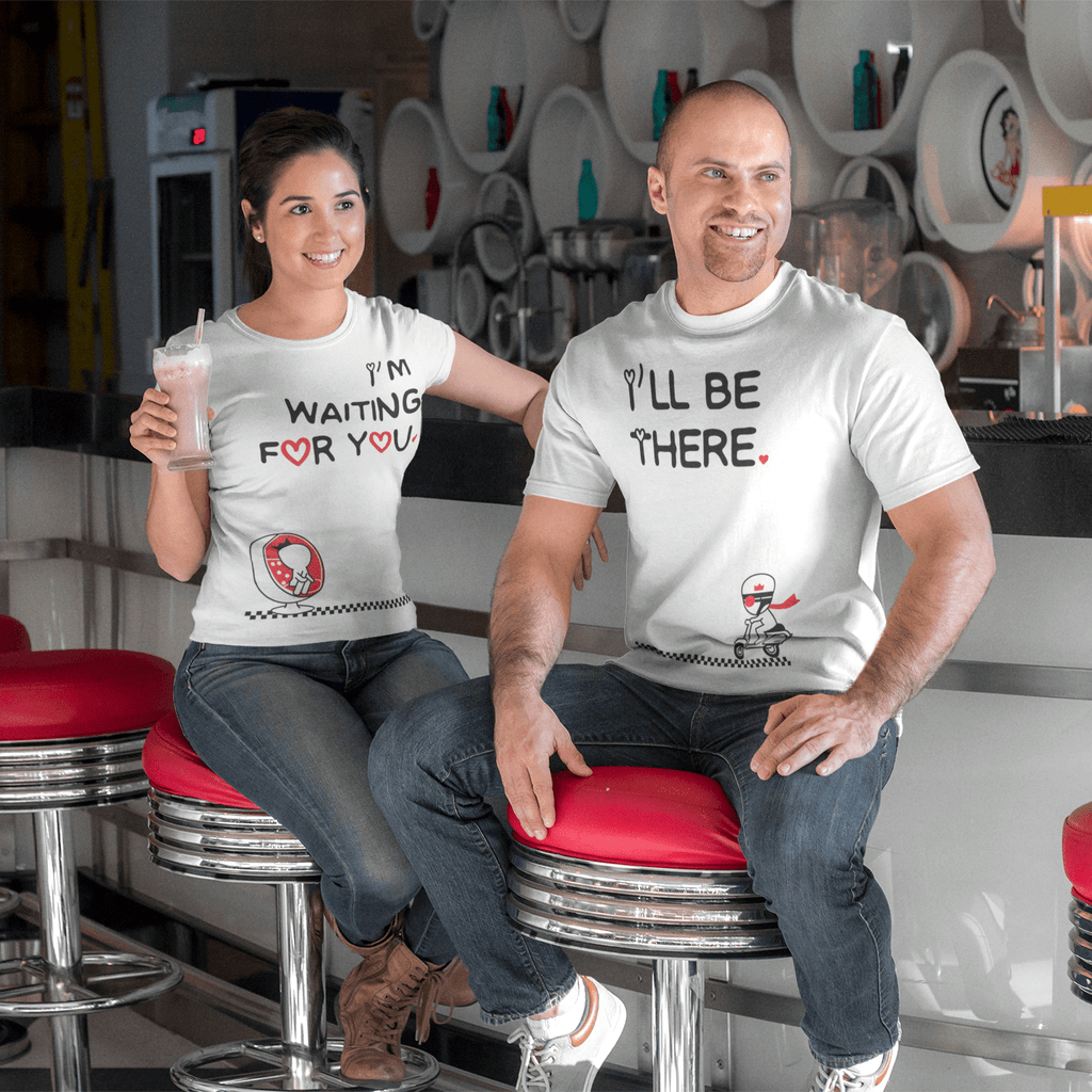Bazarville Couple Design MEN / XS Waiting For You - Couple Tee