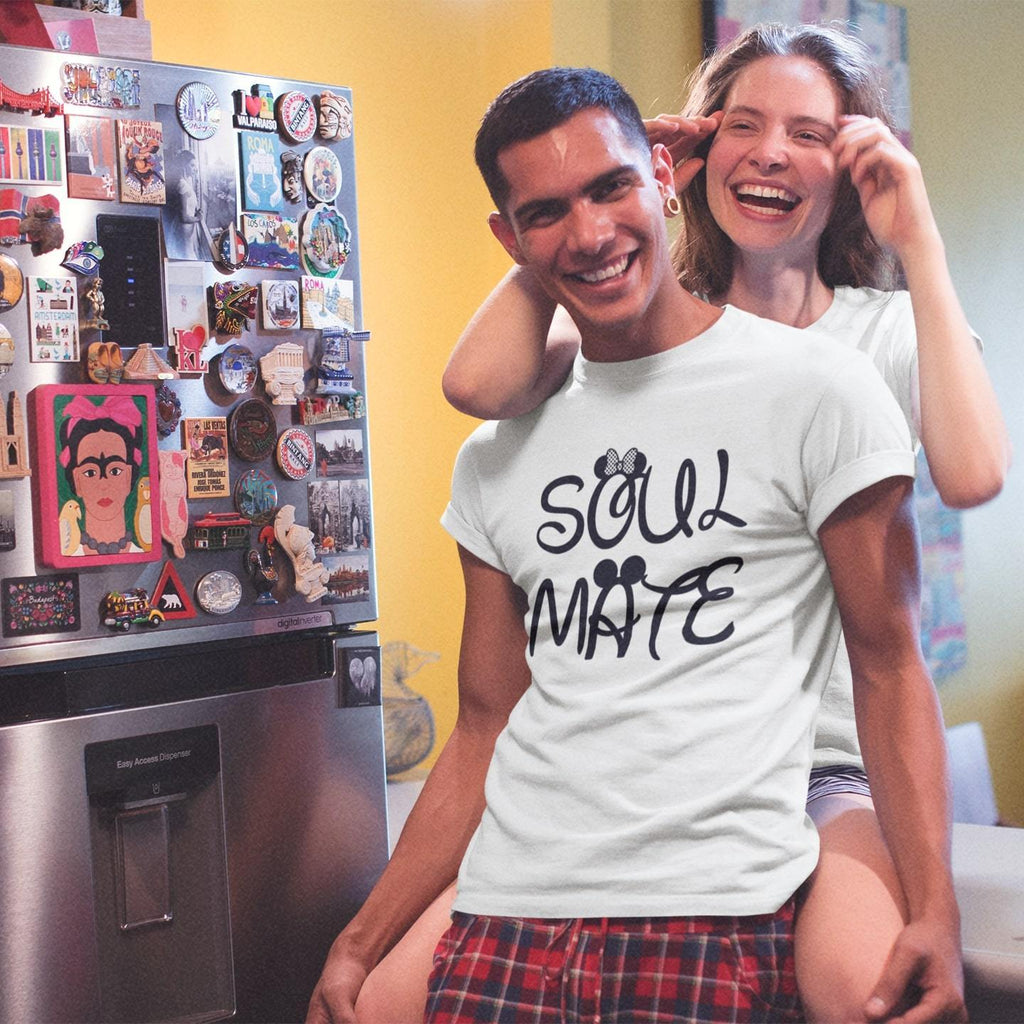 Bazarville Couple Design White / S Soul Mate