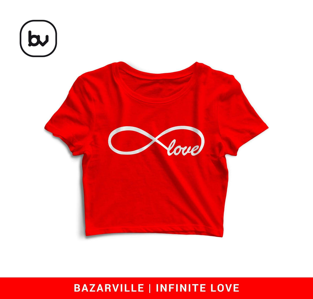 Bazarville Crop Design S / Red Love