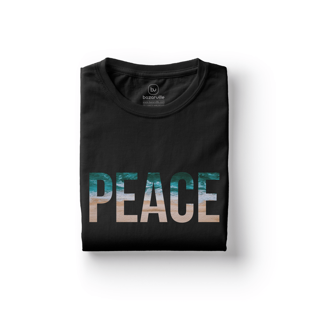 Bazarville LIT XS / BLACK / MEN Peace