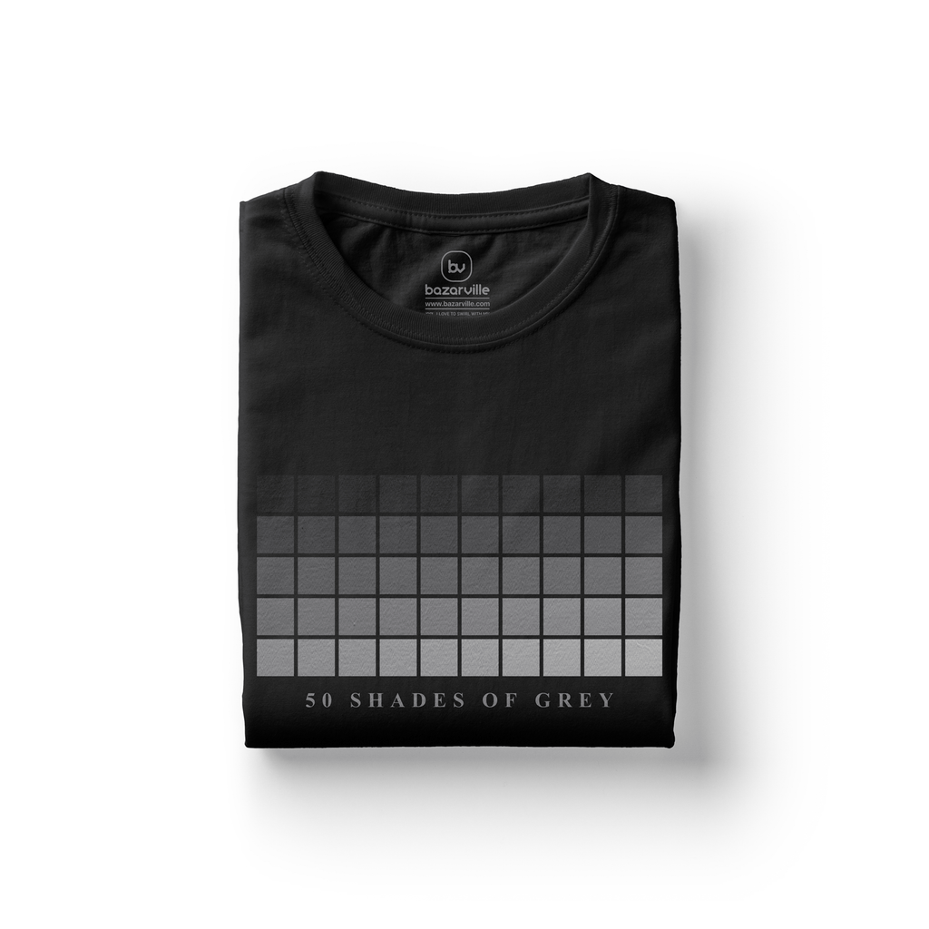 Bazarville LIT XS / MEN / Black 50 Shades of Grey