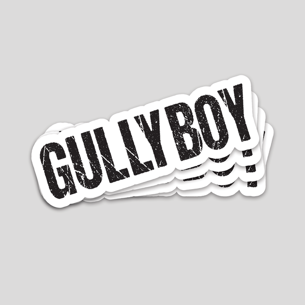 Bazarville Sticker Gully Boy Sticker