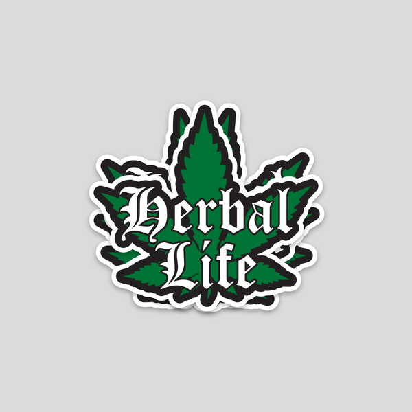 Bazarville Sticker Herbal Life - Sticker