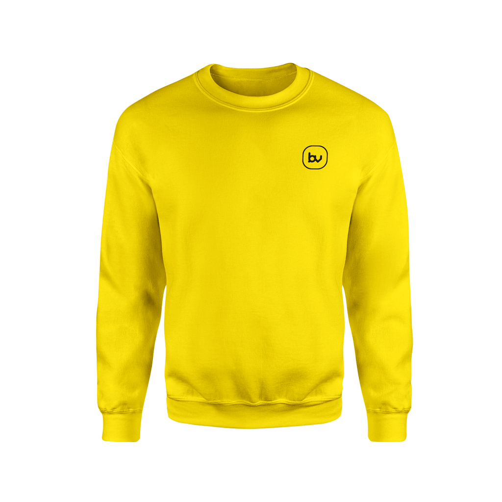 Bazarville Tshirt S / Sun Yellow Sweatshirt - Yellow