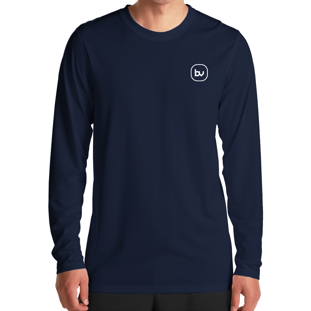 Bazarville Tshirt S / UNISEX Plain Navy Blue Full Sleeves T-Shirt
