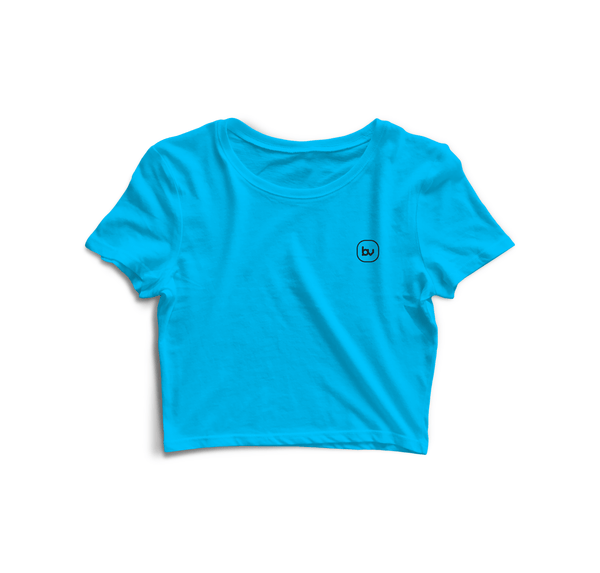 Bazarville Void CT XS Sky Blue - Crop Top