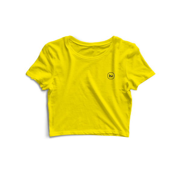 Bazarville Void CT XS / Sun Yellow Sun Yellow Crop Top