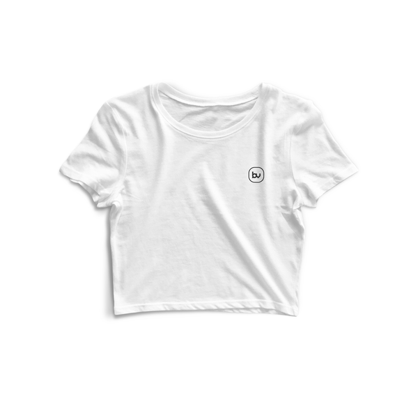 Bazarville Void CT XS / White Crop Top - White