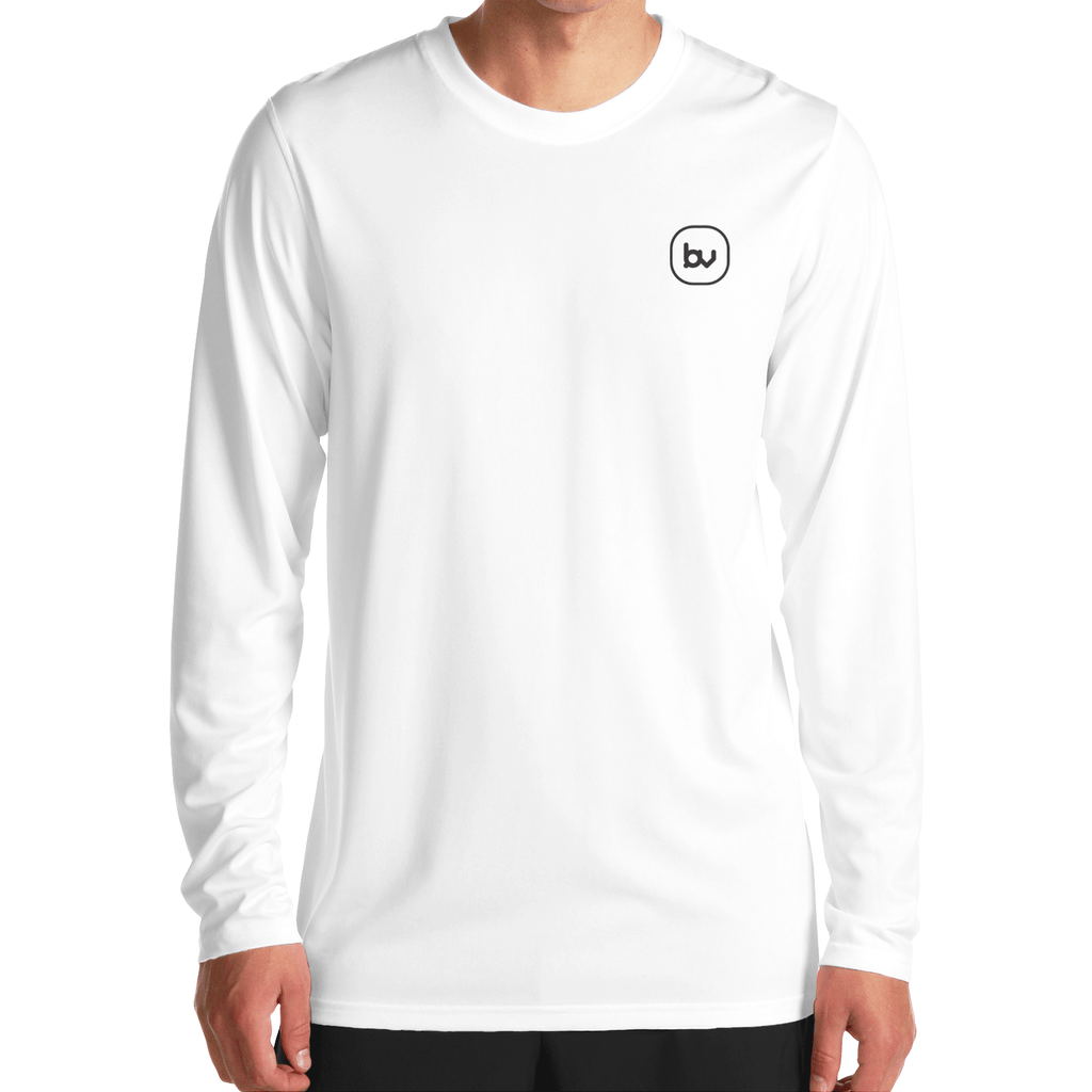 Bazarville Void FS XS White Full Sleeve T-Shirt