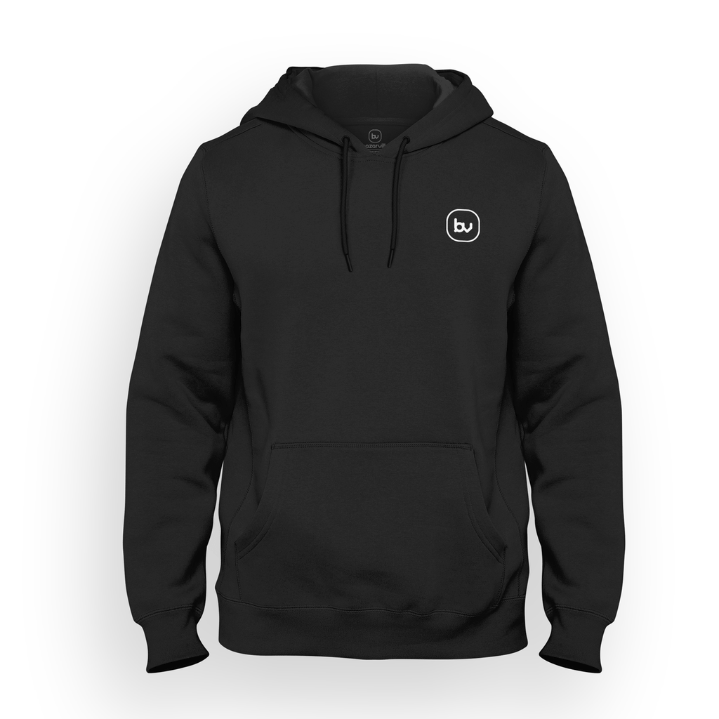 Bazarville Void HD S / Black Hoodie - Jet Black