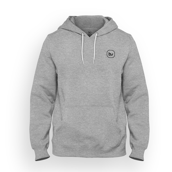 Bazarville Void HD S Hoodie - Heather Grey