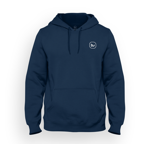 Bazarville Void HD S / Navy Hoodie - Navy Blue