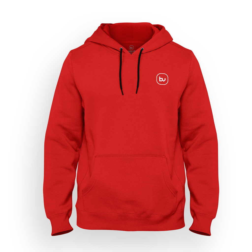 Bazarville Void HD S / Red Hoodie - Red
