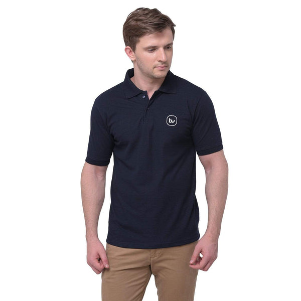 Bazarville Void POLO Plain Polo Navy Blue