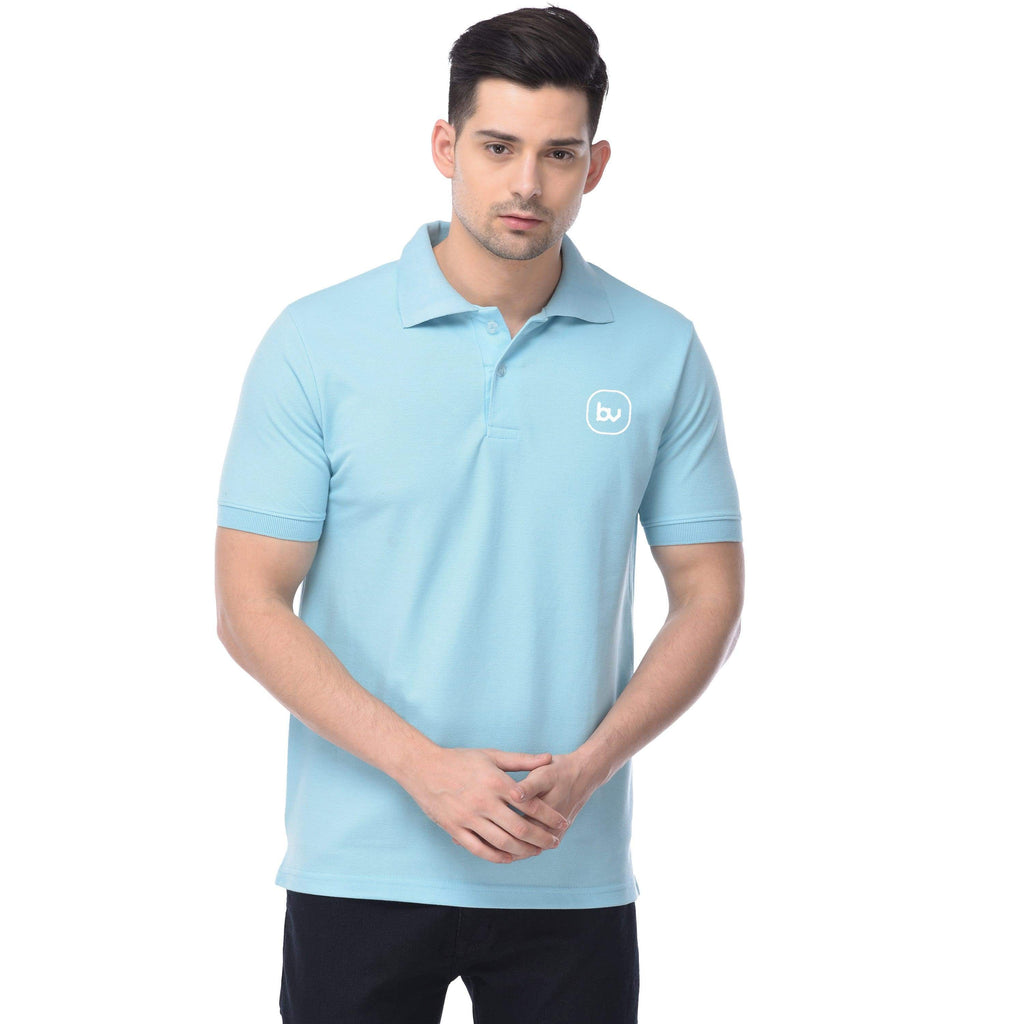 Bazarville Void POLO S / UNISEX Baby Blue Polo