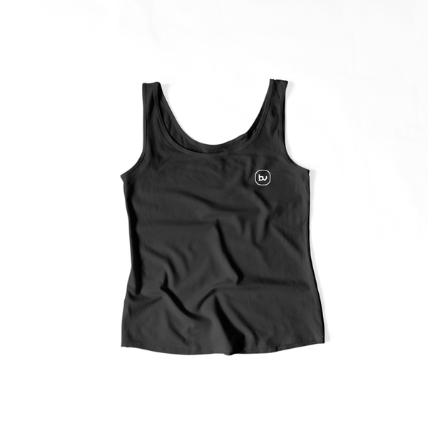 Bazarville Void TTF XS / Black Girls Tank Top - Black