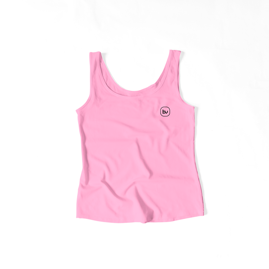 Bazarville Void TTF XS Girls Tank Top - Baby Pink
