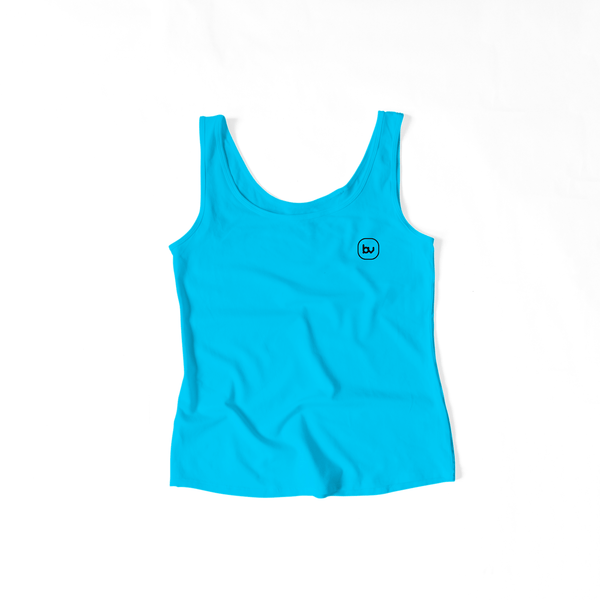 Bazarville Void TTF XS Girls Tank Top - Cyan Blue