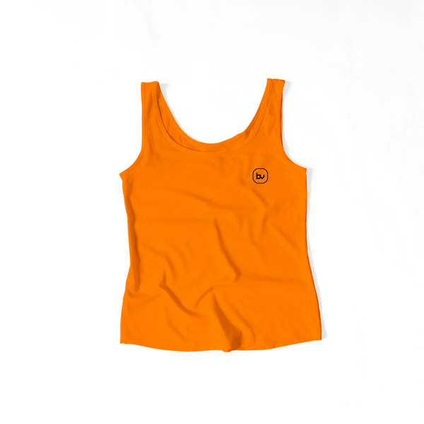 Bazarville Void TTF XS / Orange Girls Tank Top - Orange